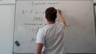 Kinetická Energie - Výklad