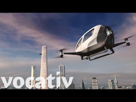 Volar en un taxi-dron será una realidad en Dubai