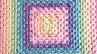 Crochet a Perfect Seamless Granny Square (& no twisting!)
