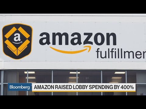 Amazon Expands D.C. Lobbying Influence as Business Grows