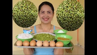 Pretty Girl Show How To do Bean Cake With  Recipe New   Village Food Factory