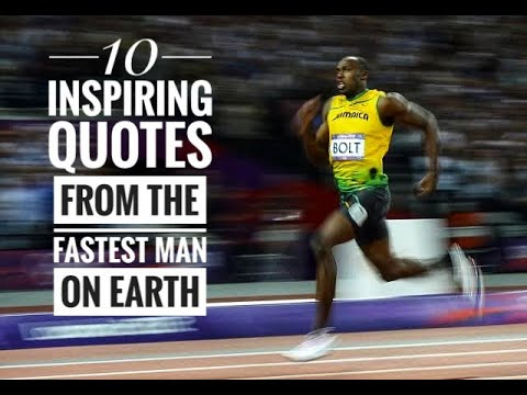 10 Inspiring Quotes Of Usian Bolt Best Usain Bolt Quotes Motivation Success Quotes Youtube