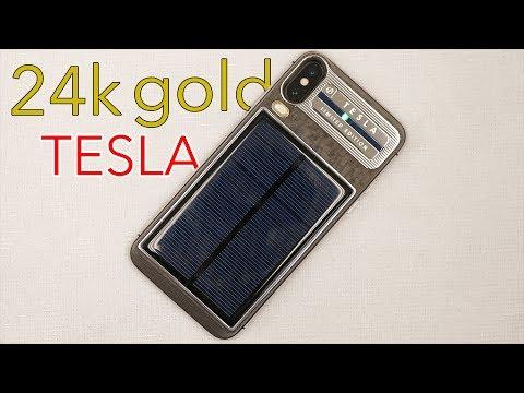 The 24k Gold Tesla iPhone