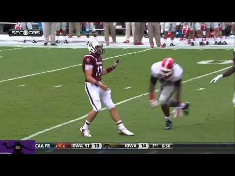 Dylan Thompson vs. Georgia (2014)