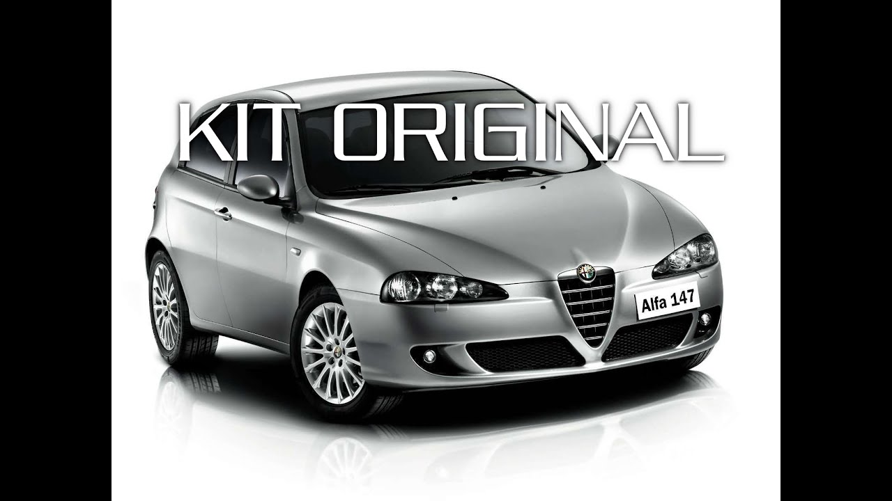 barre green valley original alfa romeo 147 kit youtube. Black Bedroom Furniture Sets. Home Design Ideas