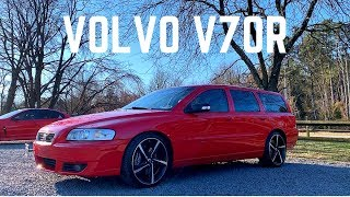 2007 Volvo V70R in Passion Red | Featuring Chris Stewart from SwedeSpeed