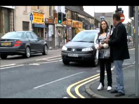 Burnley UK street interview attacked by sharia muslims.