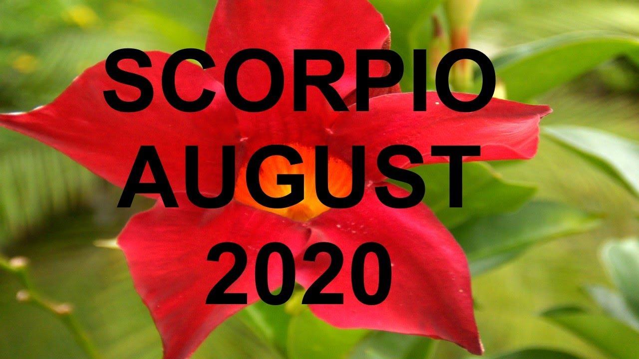 Scorpio Tarot August 2020 💖 Love & Money 💲 Clairvoyant Psychic Tarot Card Reading 🔮