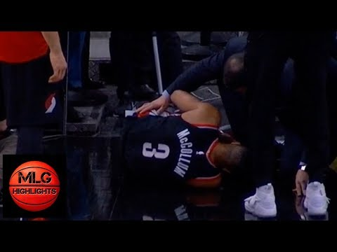 Rip City Drive with Travis and Chad - CJ McCollum Injures Knee In Loss To Spurs