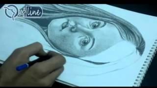 تعليم رسم البورتريه بالقلم الرصاص بطريقة احترافية part 3