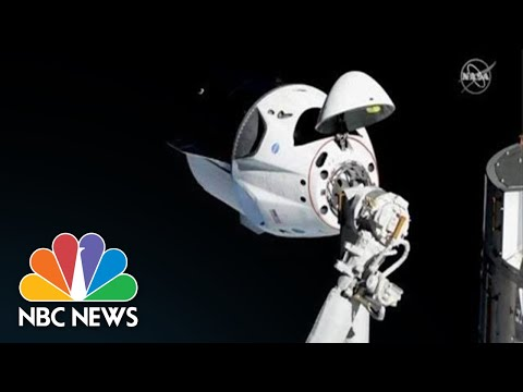 Watch Live: SpaceX's Crew Dragon Capsule Returns From International Space Station | NBC News