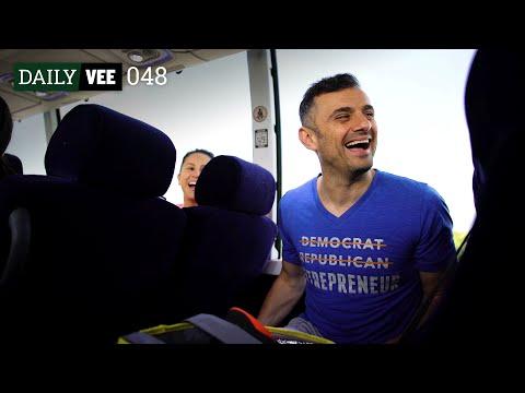 BONDING ON THE BUS | DailyVee 048