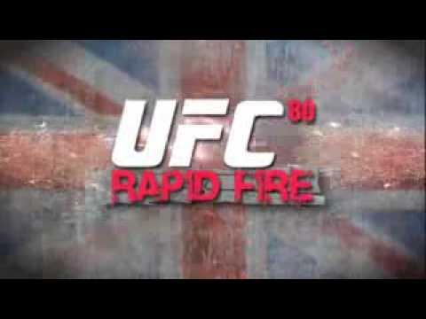 UFC 80 Rapid Fire Trailer