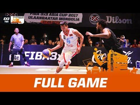 Mongolia v New Zealand | Men's Final - Full Game | FIBA 3x3 Asia Cup 2017