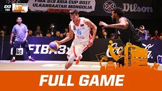 Mongolia v New Zealand | Men's Final - Full Game | FIBA 3x3 Asia Cup 2017