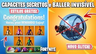 FORTNITE-CHALLENGES SINGULARITY, NEW GLITCH and SECRET SKIN!