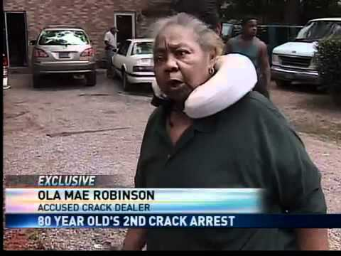 81-Year-Old Crack Dealing Grandma In Mobile, Alabama Arrested Again!