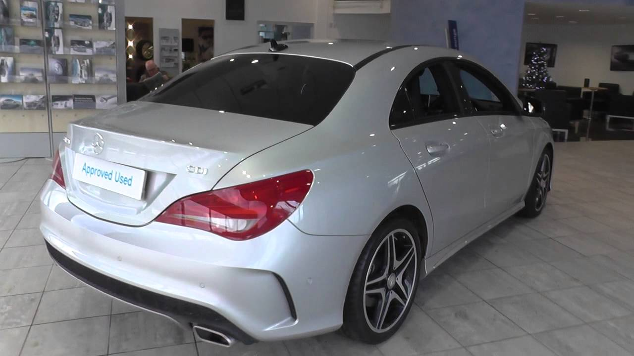 mercedes benz cla class cla 220 cdi amg sport 4dr tip auto u37372 youtube. Black Bedroom Furniture Sets. Home Design Ideas