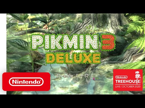 Pikmin 3 Deluxe - Nintendo Treehouse: Live | October 2020