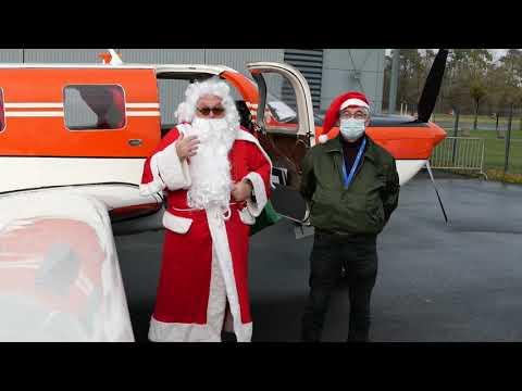 Le Père Noël a fait escale à Espace Air Passion !
