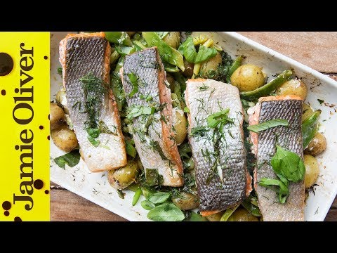 Simple Tray Baked Salmon | Bart's Fish Tales
