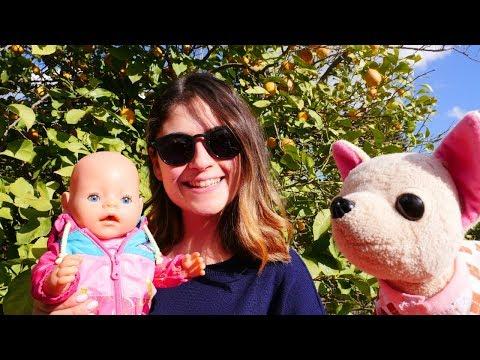 Ayşe, Bebek Gül Ve Loli Bahçeye çıkıyorlar! Çocuk Oyunu. Bebek Bakma Oyunları