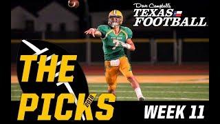 Texas High School Football Preview 2018 –Week 11