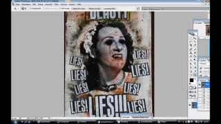 Tutorial - Mixed Media Textildruck - Fotografie, Leinwand, Siebdruck und ab aufs T-Shirt