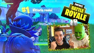 IGNORANT REAL VITTORY!! - FORTNITE