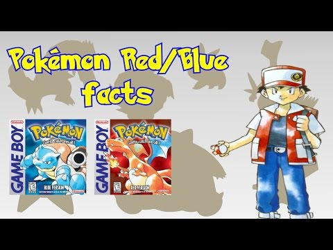 Pokémon Facts & Trivia - Pokémon Red And Blue Version