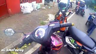 Crash bocah SMP !!! #7 *motovlog Indonesia