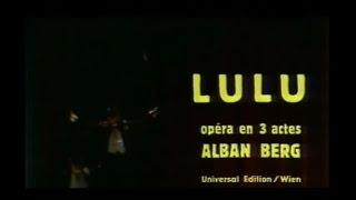 Alban Berg: Lulu (Boulez, Chéreau, 1979)