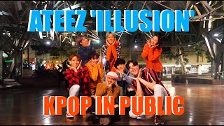 """[KPOP IN PUBLIC] ATEEZ(에이티즈) - 'ILLUSION' by O4A  """"The Expedition in Australia Dance Cover Contest"""""""