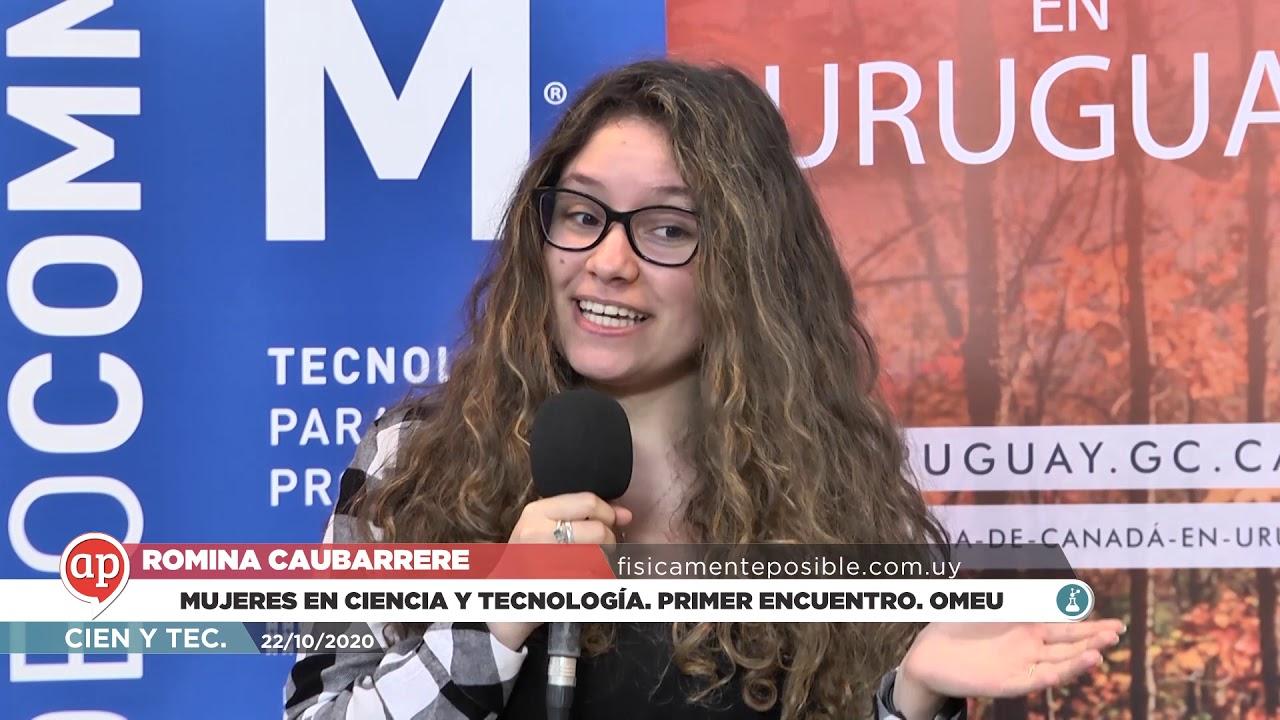 Mujeres en ciencia y tecnología. Primer encuentro. OMEU