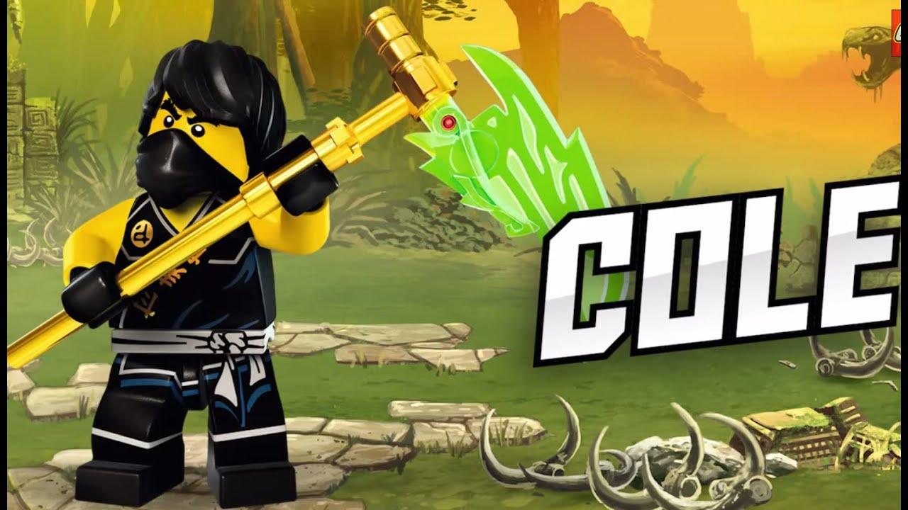 cole  lego ninjago  character spot  youtube