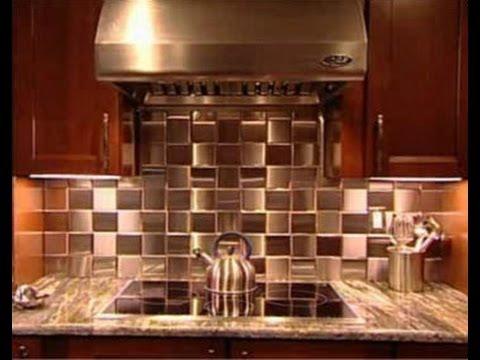 Stainless Steel Tile Installation