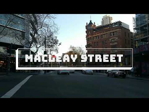"""Observational Video on """"Macleay Street, Potts Point, NSW"""""""