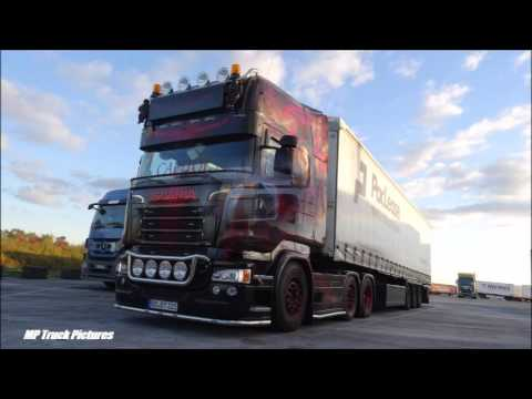 2x MTS Maik Terpe und Talmon Trans Scania R Mockingjay