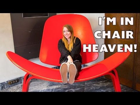 I'm in Chair Heaven! At the Danish Design Museum // My Daily Vlog Episode 39