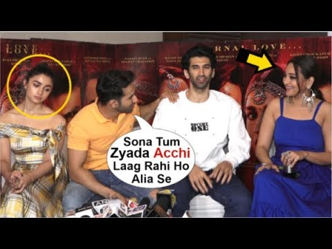 Alia Bhatt UPSET After Varun Dhawan Gives More ATTENTION To Sonakshi Sinha At Kalank Movie Promotion