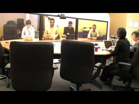 How it is like handling other technologies at the tele-presence meeting