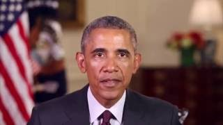 President Obama Message 2015