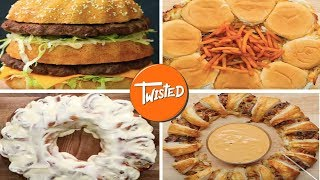 Food Party Rings 8 Ways  | Twisted