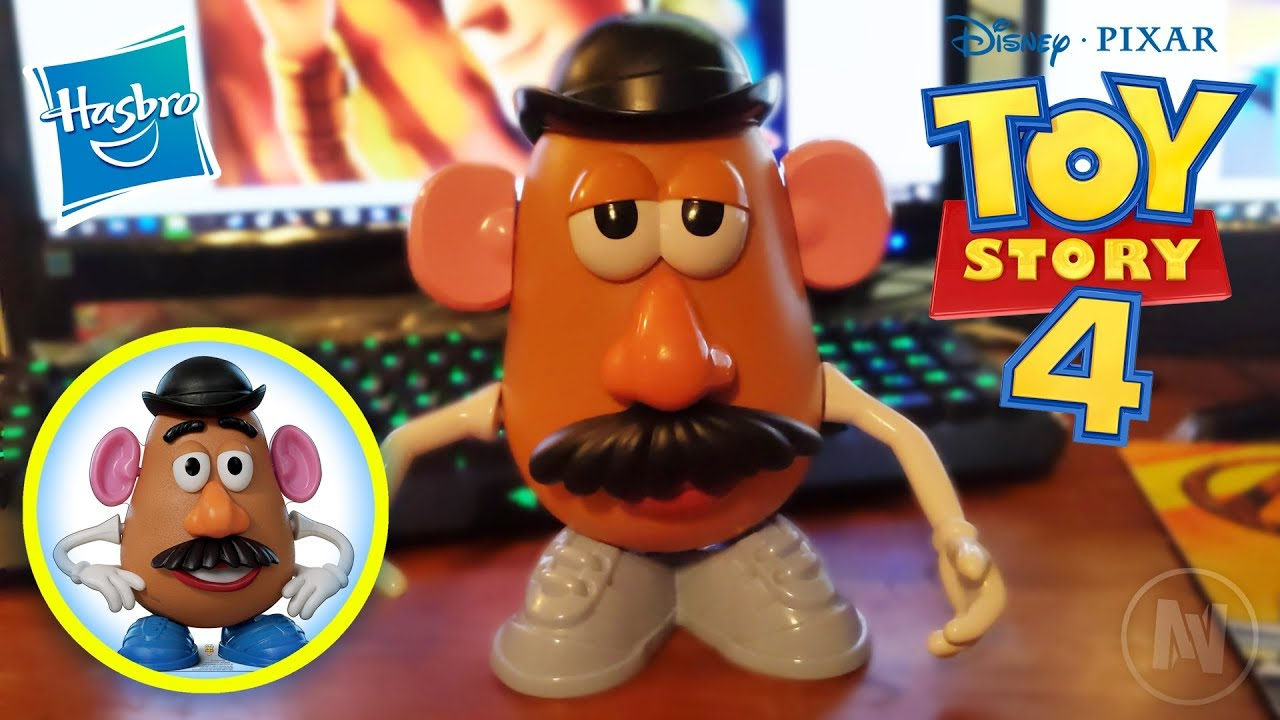 Disney Pixar Toy Story 4 New Mr Potato Head Review Hasbro