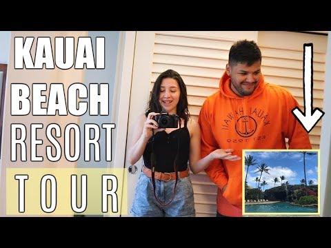 KAUAI BEACH RESORT TOUR