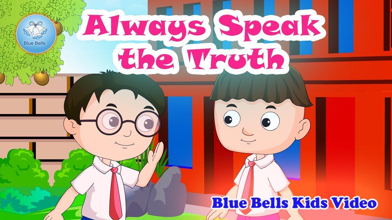 Telugu Kids Moral Story - Speak Truth