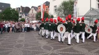 Parade der Junggesellen - Schützenfest-Samstag 2017