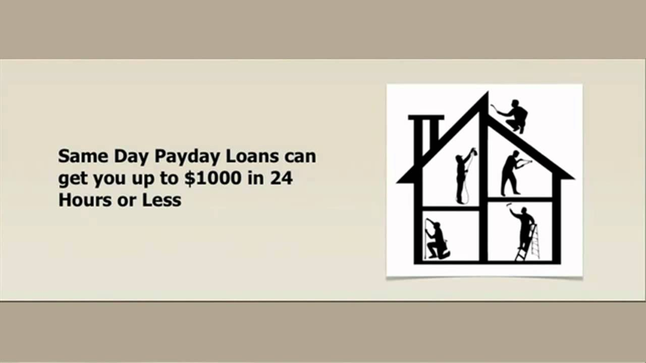 Same Day Online Payday Loans Seattle