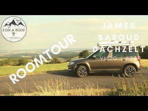 Roomtour - Unser Dachzelt von James Baroud | VLOG | #009