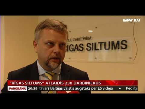"""""""Rīgas siltums"""" atlaidīs 230 darbiniekus"""